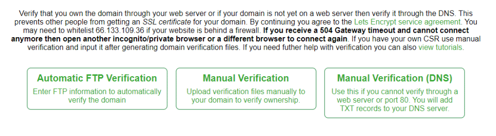 ssl for free 1