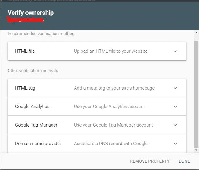 URL Prefix Verification